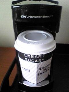 仕事始めのcoffe